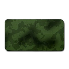 Vintage Camouflage Military Swatch Old Army Background Medium Bar Mats by Simbadda