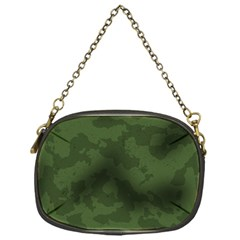 Vintage Camouflage Military Swatch Old Army Background Chain Purses (one Side)  by Simbadda