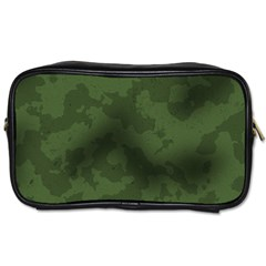 Vintage Camouflage Military Swatch Old Army Background Toiletries Bags 2 Side by Simbadda