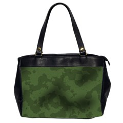 Vintage Camouflage Military Swatch Old Army Background Office Handbags (2 Sides)  by Simbadda