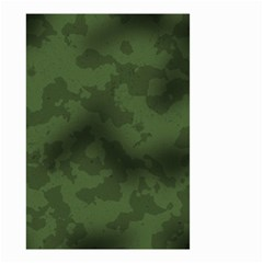 Vintage Camouflage Military Swatch Old Army Background Small Garden Flag (two Sides) by Simbadda