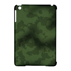 Vintage Camouflage Military Swatch Old Army Background Apple Ipad Mini Hardshell Case (compatible With Smart Cover) by Simbadda