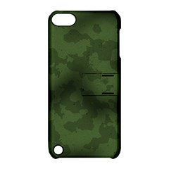Vintage Camouflage Military Swatch Old Army Background Apple Ipod Touch 5 Hardshell Case With Stand by Simbadda