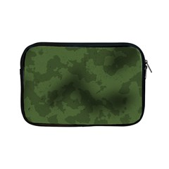 Vintage Camouflage Military Swatch Old Army Background Apple Ipad Mini Zipper Cases by Simbadda