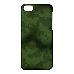 Vintage Camouflage Military Swatch Old Army Background Apple Iphone 5c Hardshell Case by Simbadda