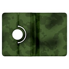 Vintage Camouflage Military Swatch Old Army Background Kindle Fire HDX Flip 360 Case by Simbadda