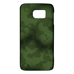 Vintage Camouflage Military Swatch Old Army Background Galaxy S6 by Simbadda