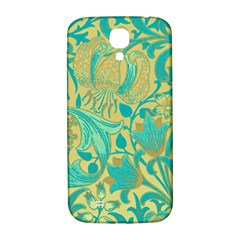 Floral Pattern Samsung Galaxy S4 I9500/i9505  Hardshell Back Case by Valentinaart
