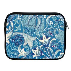 Floral Pattern Apple Ipad 2/3/4 Zipper Cases by Valentinaart