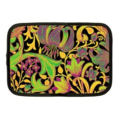 Floral Pattern Netbook Case (medium)  by Valentinaart
