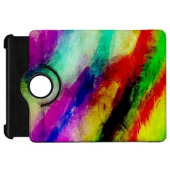 Colorful Abstract Paint Splats Background Kindle Fire Hd 7  by Simbadda