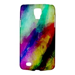 Colorful Abstract Paint Splats Background Galaxy S4 Active by Simbadda