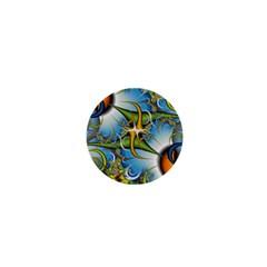 Random Fractal Background Image 1  Mini Magnets by Simbadda
