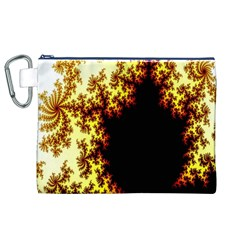 A Fractal Image Canvas Cosmetic Bag (xl) by Simbadda