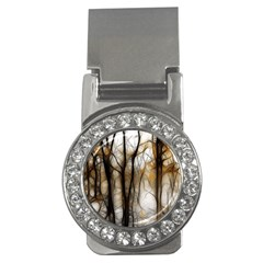 Fall Forest Artistic Background Money Clips (cz)  by Simbadda