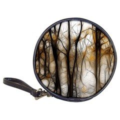 Fall Forest Artistic Background Classic 20 Cd Wallets by Simbadda