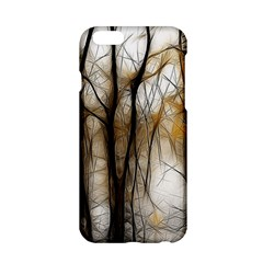 Fall Forest Artistic Background Apple Iphone 6/6s Hardshell Case by Simbadda