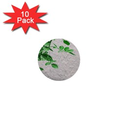 Plants Over Wall 1  Mini Buttons (10 Pack)  by dflcprints