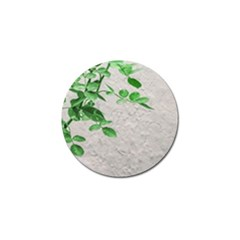 Plants Over Wall Golf Ball Marker by dflcprints