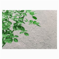 Plants Over Wall Large Glasses Cloth by dflcprints