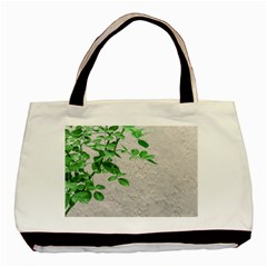 Plants Over Wall Basic Tote Bag (two Sides) by dflcprints