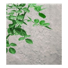 Plants Over Wall Shower Curtain 66  X 72  (large)  by dflcprints