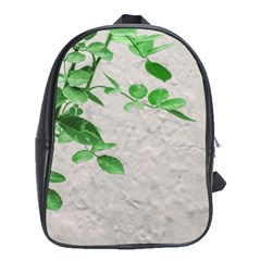 Plants Over Wall School Bags(large)  by dflcprints