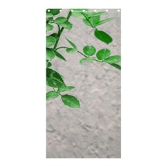 Plants Over Wall Shower Curtain 36  X 72  (stall)  by dflcprints