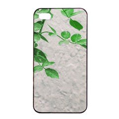 Plants Over Wall Apple Iphone 4/4s Seamless Case (black) by dflcprints