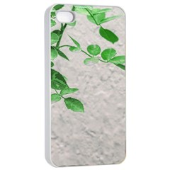Plants Over Wall Apple Iphone 4/4s Seamless Case (white) by dflcprints