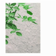 Plants Over Wall Small Garden Flag (two Sides) by dflcprints