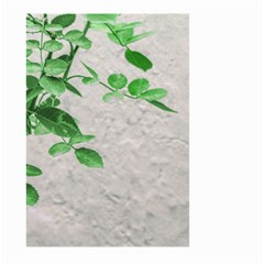 Plants Over Wall Large Garden Flag (two Sides) by dflcprints