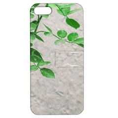 Plants Over Wall Apple Iphone 5 Hardshell Case With Stand by dflcprints