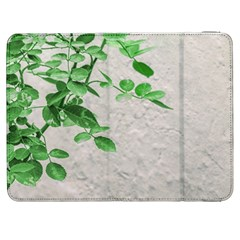 Plants Over Wall Samsung Galaxy Tab 7  P1000 Flip Case by dflcprints