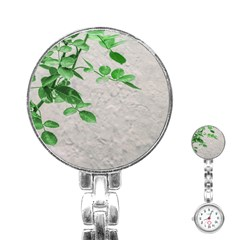 Plants Over Wall Stainless Steel Nurses Watch by dflcprints