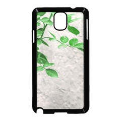Plants Over Wall Samsung Galaxy Note 3 Neo Hardshell Case (black) by dflcprints