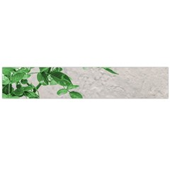 Plants Over Wall Flano Scarf (large)  by dflcprints