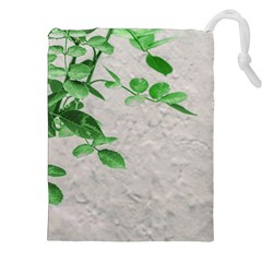 Plants Over Wall Drawstring Pouches (xxl) by dflcprints