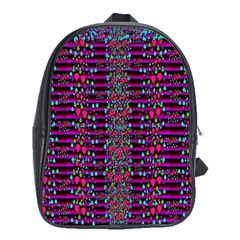 Raining Rain And Mermaid Shells Pop Art School Bags(large)  by pepitasart