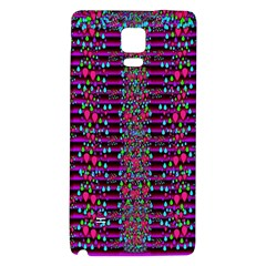 Raining Rain And Mermaid Shells Pop Art Galaxy Note 4 Back Case by pepitasart