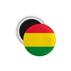 Rasta Colors Red Yellow Gld Green Stripes Pattern Ethiopia 1 75  Magnets by yoursparklingshop