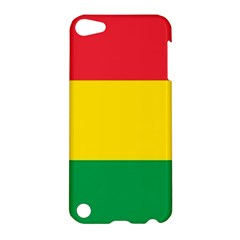 Rasta Colors Red Yellow Gld Green Stripes Pattern Ethiopia Apple Ipod Touch 5 Hardshell Case by yoursparklingshop