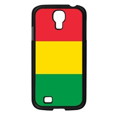 Rasta Colors Red Yellow Gld Green Stripes Pattern Ethiopia Samsung Galaxy S4 I9500/ I9505 Case (black) by yoursparklingshop