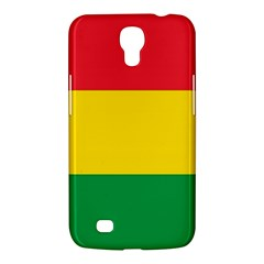 Rasta Colors Red Yellow Gld Green Stripes Pattern Ethiopia Samsung Galaxy Mega 6 3  I9200 Hardshell Case by yoursparklingshop