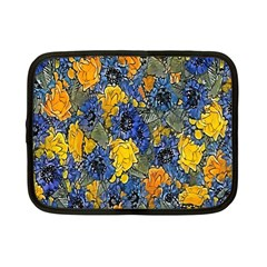 Floral Pattern Background Netbook Case (small)  by Simbadda