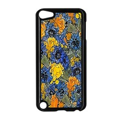 Floral Pattern Background Apple Ipod Touch 5 Case (black) by Simbadda