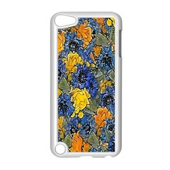 Floral Pattern Background Apple Ipod Touch 5 Case (white) by Simbadda