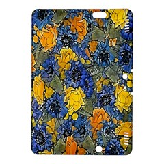 Floral Pattern Background Kindle Fire Hdx 8 9  Hardshell Case by Simbadda