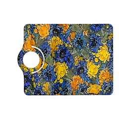 Floral Pattern Background Kindle Fire Hd (2013) Flip 360 Case by Simbadda
