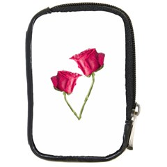 Red Roses Photo Compact Camera Cases by dflcprints
